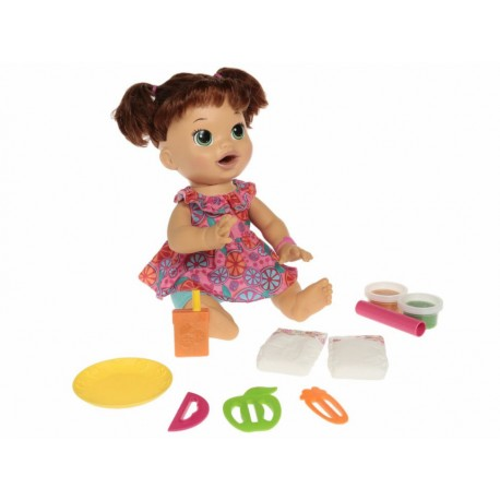 Muñeca Baby Alive Comiditas Divertidas - Envío Gratuito