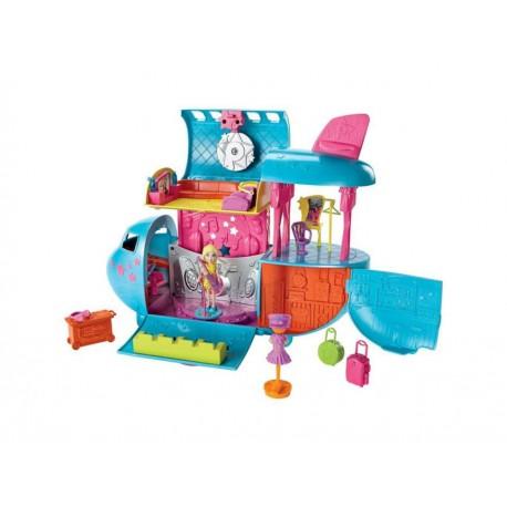Muñeca Polly Pocket Súper Jet Gira de Conciertos - Envío Gratuito
