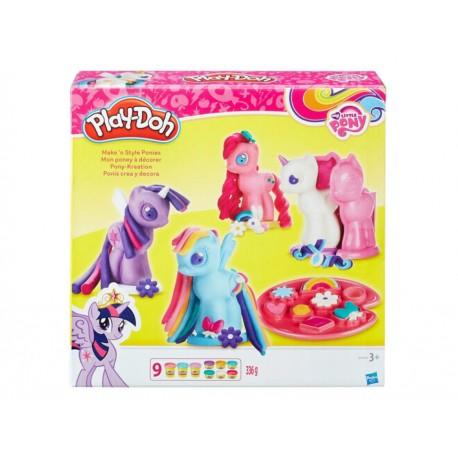 Mi Pequeño Pony Ponis crea y decora Hasbro Play-Doh - Envío Gratuito