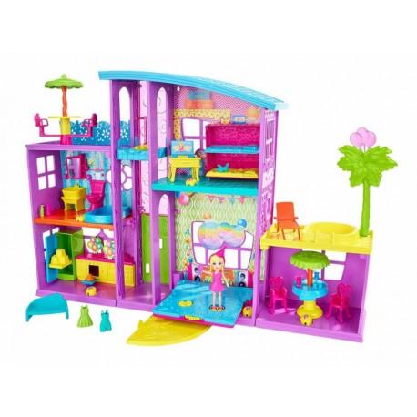 Mega casa de sorpresas Polly Pocket Poppin' Party Pad - Envío Gratuito