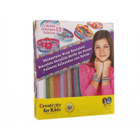 Creativity For Kids Pulseras Enlazadas con Estrás - Envío Gratuito