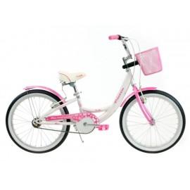 Turbo Bicicleta R-20 Princess Blanca - Envío Gratuito