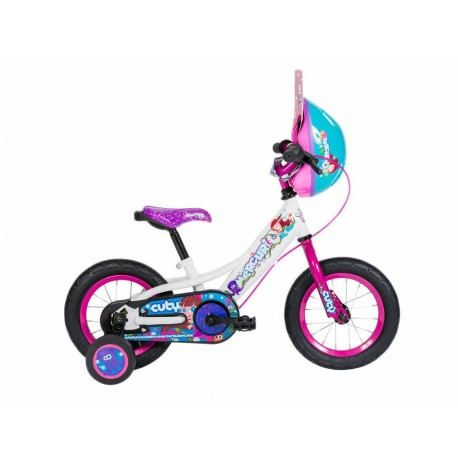 Mercurio Bicicleta Cuty R12 1V Blanco-Rosa - Envío Gratuito