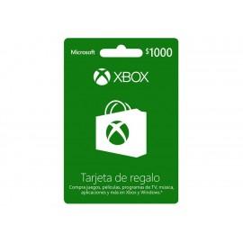 Xbox Live Tarjeta CSV 1000 MXN - Envío Gratuito