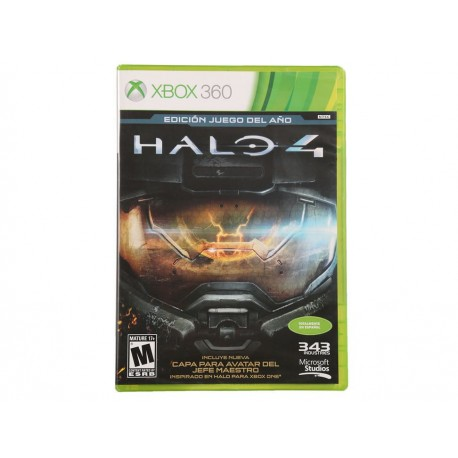 Halo 4 Game of the Year Edition Xbox 360 - Envío Gratuito