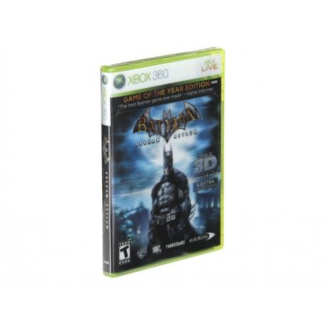 Batman Arkham Asylum Xbox 360 - Envío Gratuito