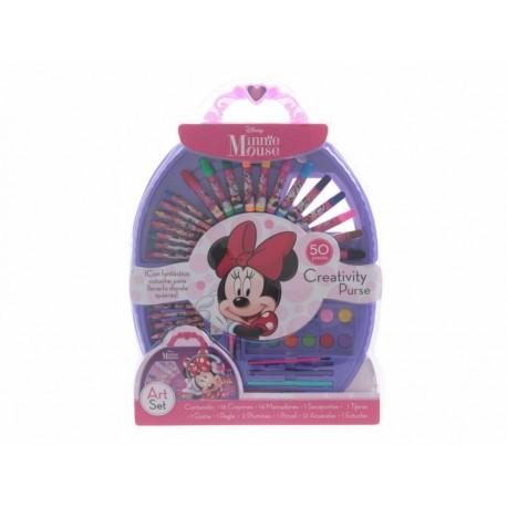 Best Trading Set Escolar Creativity Purse Minnie Mouse - Envío Gratuito