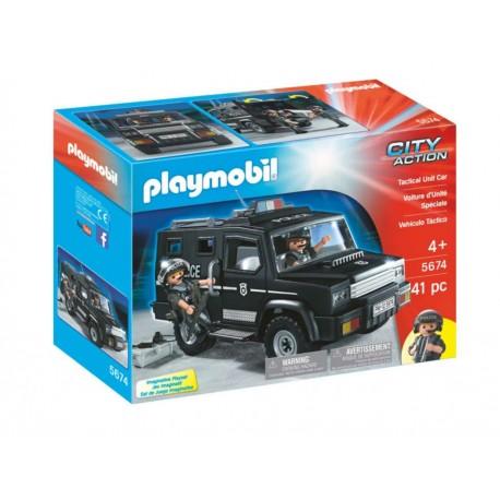 Playmobil Swat Car - Envío Gratuito