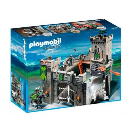 Playmobil Knights Fortaleza de los Caballeros Lobo - Envío Gratuito