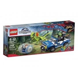 Lego Jurassic World Dilophosaurus - Envío Gratuito