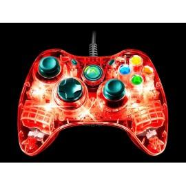 Xbox 360 Control Afterglow Transparente - Envío Gratuito