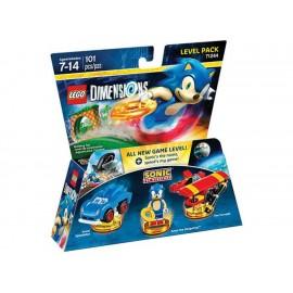 Lego Dimensions Level Pack Sonic - Envío Gratuito