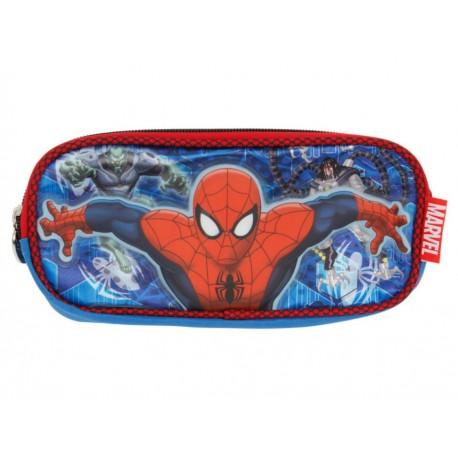 Ruz Lapicera Spider-Man Telaraña Azul - Envío Gratuito