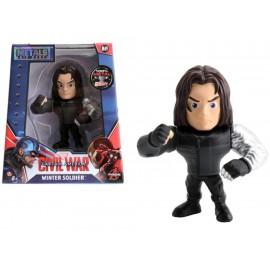 Metals Die Cast Marvel Figura Winter Soldier - Envío Gratuito