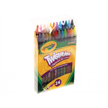 Crayola Lápices de Color Twisteables - Envío Gratuito