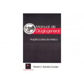 Manual De Cirugía General Hospital Juárez De México - Envío Gratuito