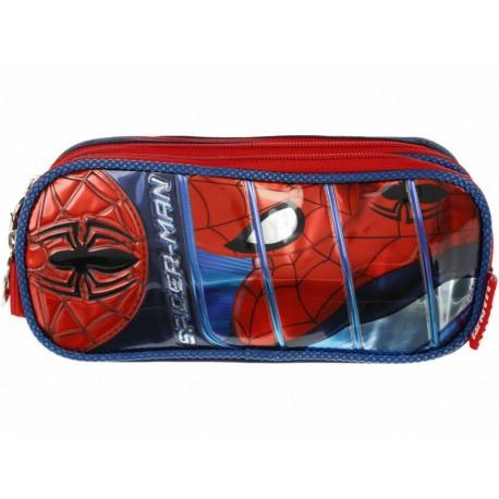 Lapicera Ruz Spider-Man azul - Envío Gratuito