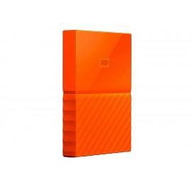 Western Digital My Passport Disco Duro 2 TB Naranja - Envío Gratuito