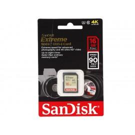 Sandisk Memoria Extreme SD 16 GB Clase 10 - Envío Gratuito