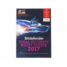 Antivirus Bitdefender Total Security Multi-Device 2017 - Envío Gratuito