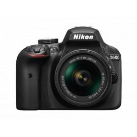 Cámara Réflex Nikon D3400 CMOS DX de 24.2 Megapíxeles - Envío Gratuito