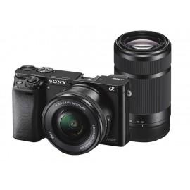 Sony Kit con Cámara Profesional Alpha ILCE-6000 Lente SEL55210 - Envío Gratuito