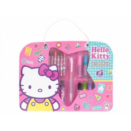 Hello Kitty Set Escolar de Arte - Envío Gratuito
