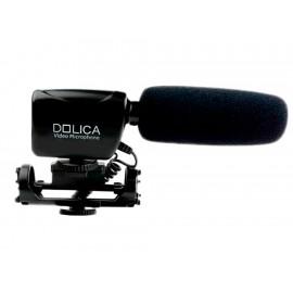 Dolica Micrófono Compatible con DSLR - Envío Gratuito