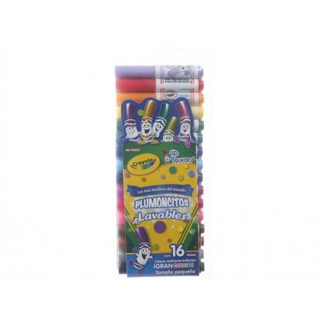 Crayola Paquete de Plumoncitos Lavables Multicolor - Envío Gratuito