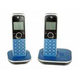 Teléfono inalámbrico Motorola GA, azul - Envío Gratuito