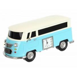 Bocina con bluetooth JBE camioneta vintage azul - Envío Gratuito