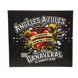 Juntos por la Cumbia los Ángeles Azules y Grupo Cañaveral CD + DVD - Envío Gratuito