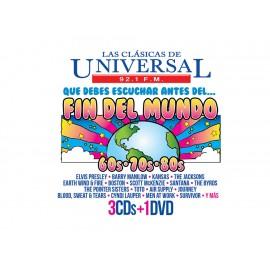 Sony Music Las Clásicas de Universal 92.1 FM que debes de Escuchar Antes¿del Fin del Mundo 3 CD + DVD - Envío Gratuito