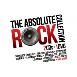 The Absolute Rock Collection 2 CD's + DVD - Envío Gratuito