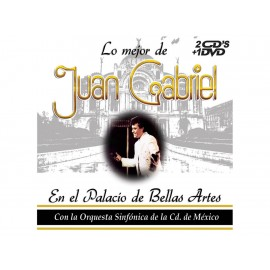 Sony Music Juan Gabriel Lo Mejor de Juan Gabriel en el Palacio de Bellas Artes CD DVD - Envío Gratuito