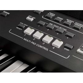Yamaha PSRS670SPA Teclado Digital Negro - Envío Gratuito