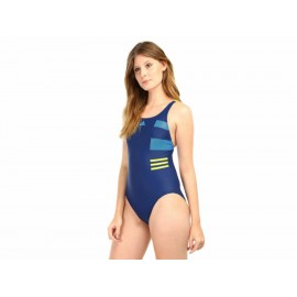 Traje de baño Adidas Block Swimsuit para dama - Envío Gratuito
