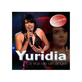 La Voz de un Ángel Yuridia CD + DVD - Envío Gratuito