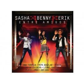 Entre Amigos Sasha, Benny y Erik 2 CD'S + DVD - Envío Gratuito