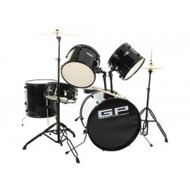 Greggs GRGG-1103-BK Batería Acústica Color Negro - Envío Gratuito