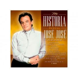 Mi Historia Musical José José 2 CDS + DVD - Envío Gratuito