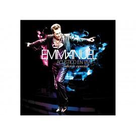 Emmanuel Acústico en Vivo CD+DVD - Envío Gratuito