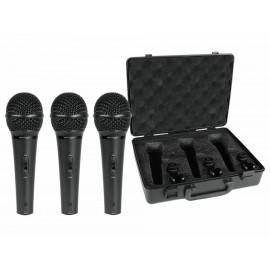 Set de microfónos Bheringer XM1800S negros - Envío Gratuito