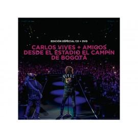Desde el Estadio El Campín de Bogotá Carlos Vives CD + DVD - Envío Gratuito