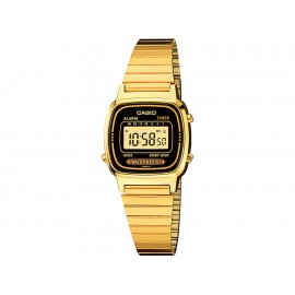 Casio Classic LA670WGA-1VT Reloj Unisex Color Dorado - Envío Gratuito