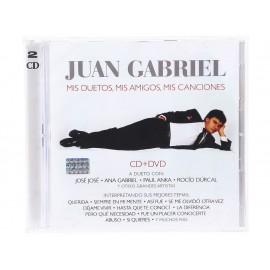 Mis Duetos Mis Amigos Mis Canciones Juan Gabriel CD - Envío Gratuito