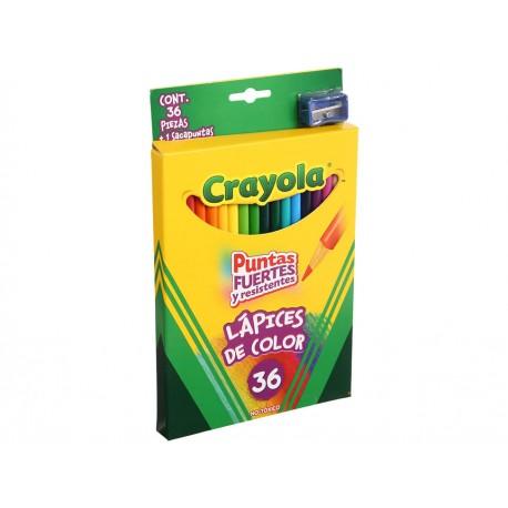 Crayola Lápices de Colores Largos con Sacapuntas - Envío Gratuito