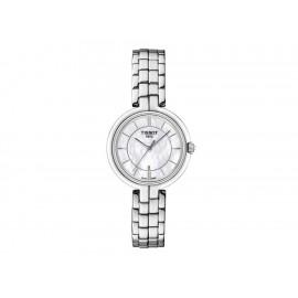 Tissot Belle / New Lady T0942101111100 Reloj para Dama Color Acero - Envío Gratuito