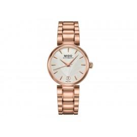 Mido Baroncelli M0222073303110 Reloj para Dama Color Oro Rosa - Envío Gratuito