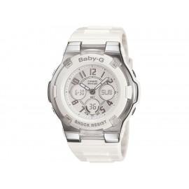 Casio Baby-G BGA-110-7BCR Reloj para Dama Color Blanco - Envío Gratuito
